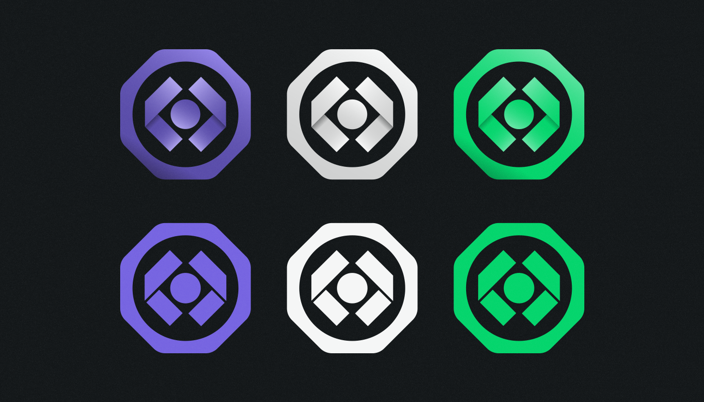 powerhouse cbd oil athletes badge design gradient and flat icons visual identity by connor fowler cfowlerdesign